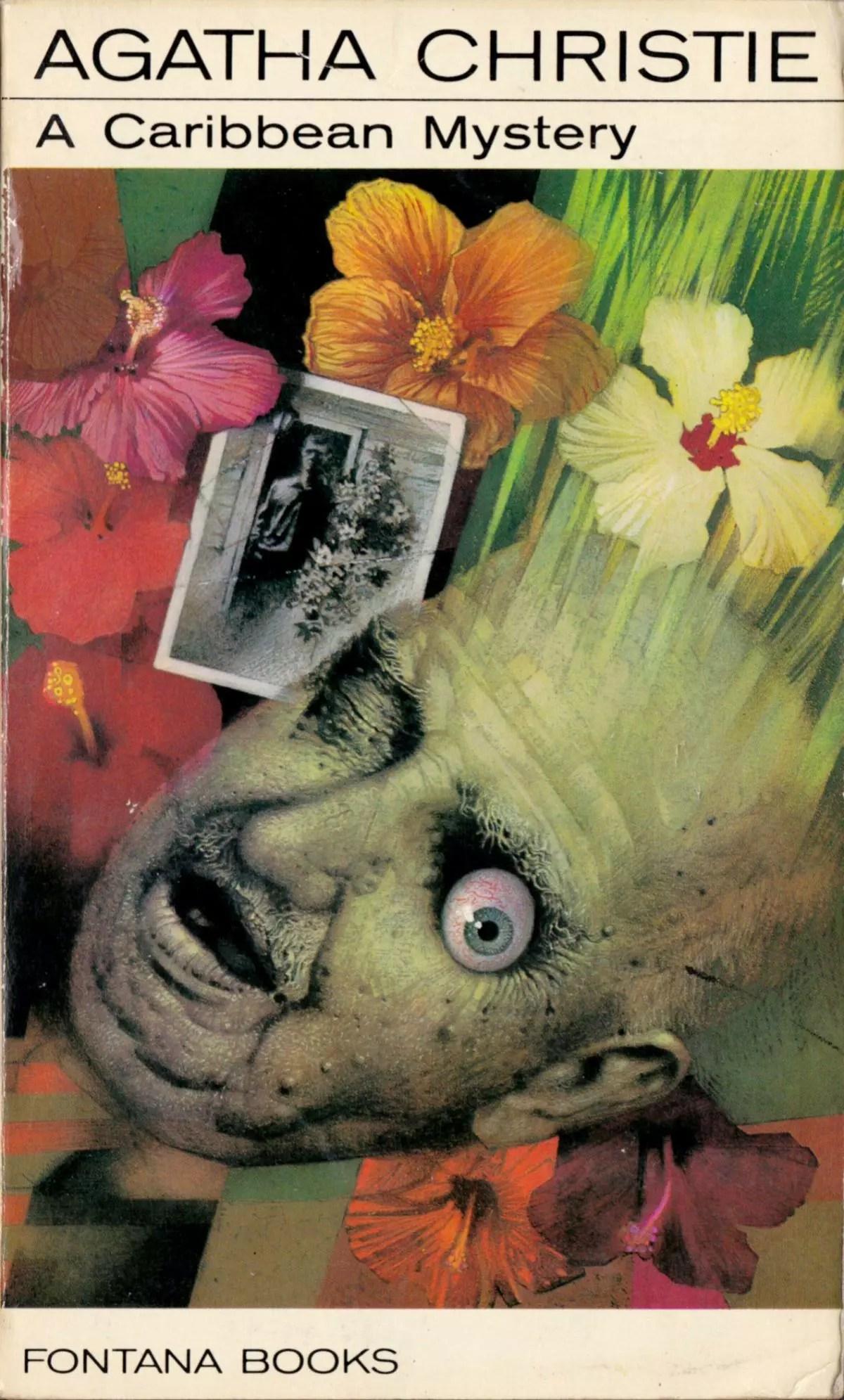 Agatha Christie Tom Adams A Caribbean Mystery Fontana 1975