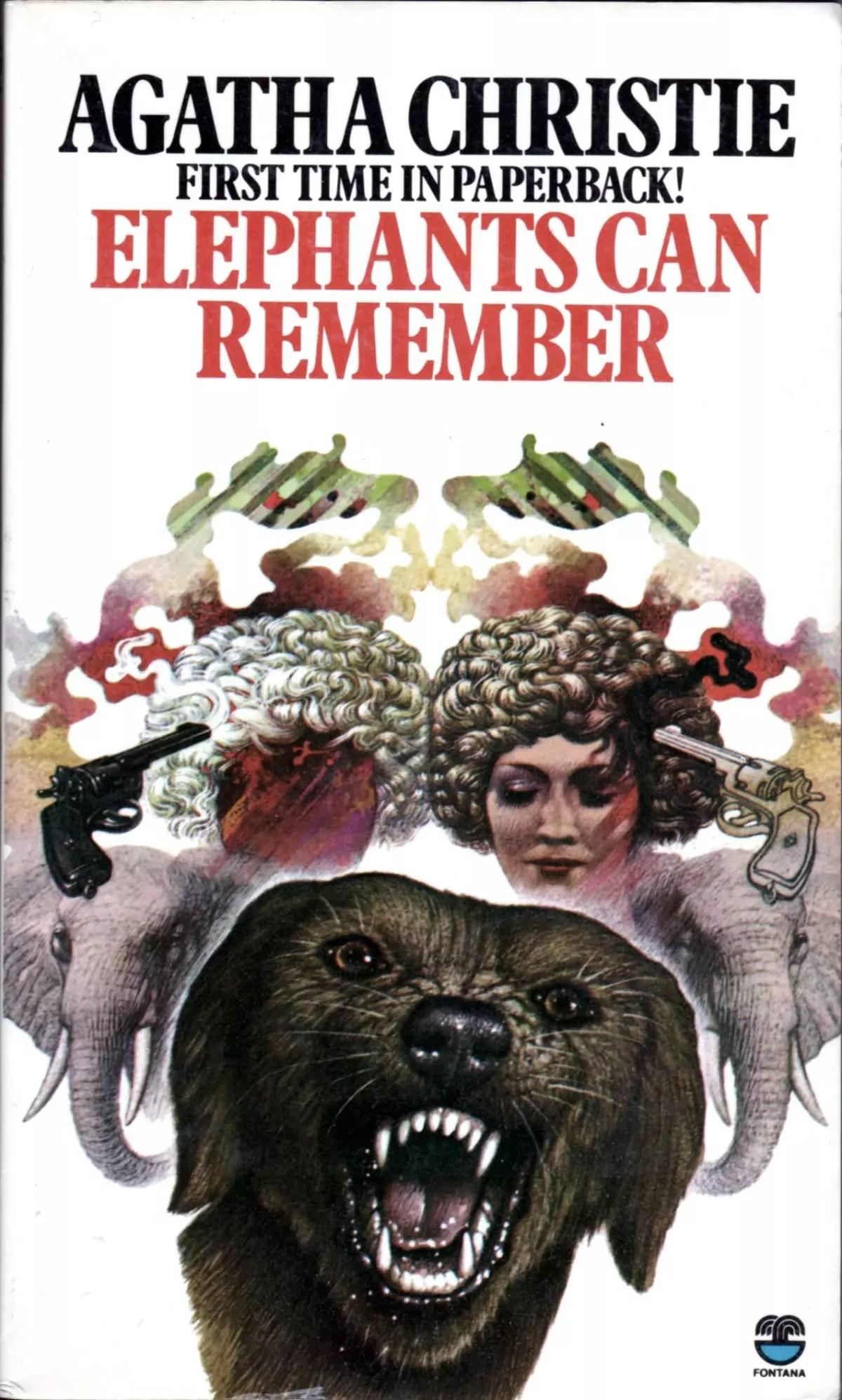 Agatha Christie Tom Adams Elephants Can Remember Fontana 1975