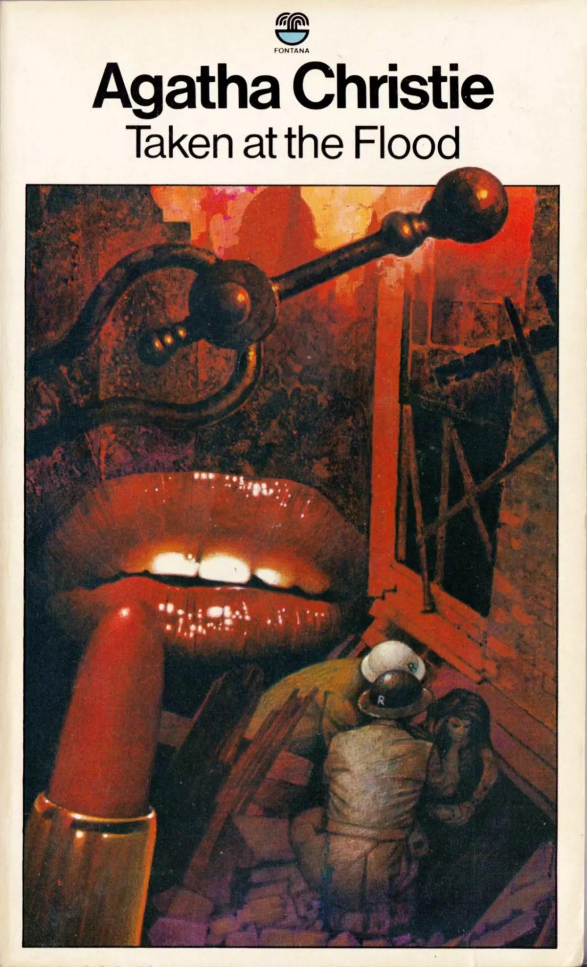 Agatha Christie Tom Adams Taken at the FLood Fontana 1979