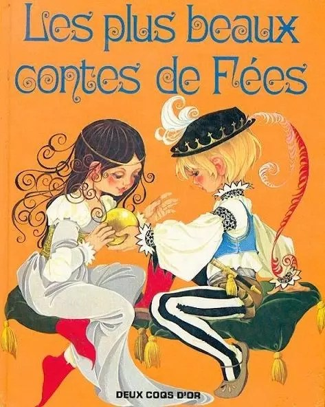 GJT French Les plus contes de fees gift book of fairy tales