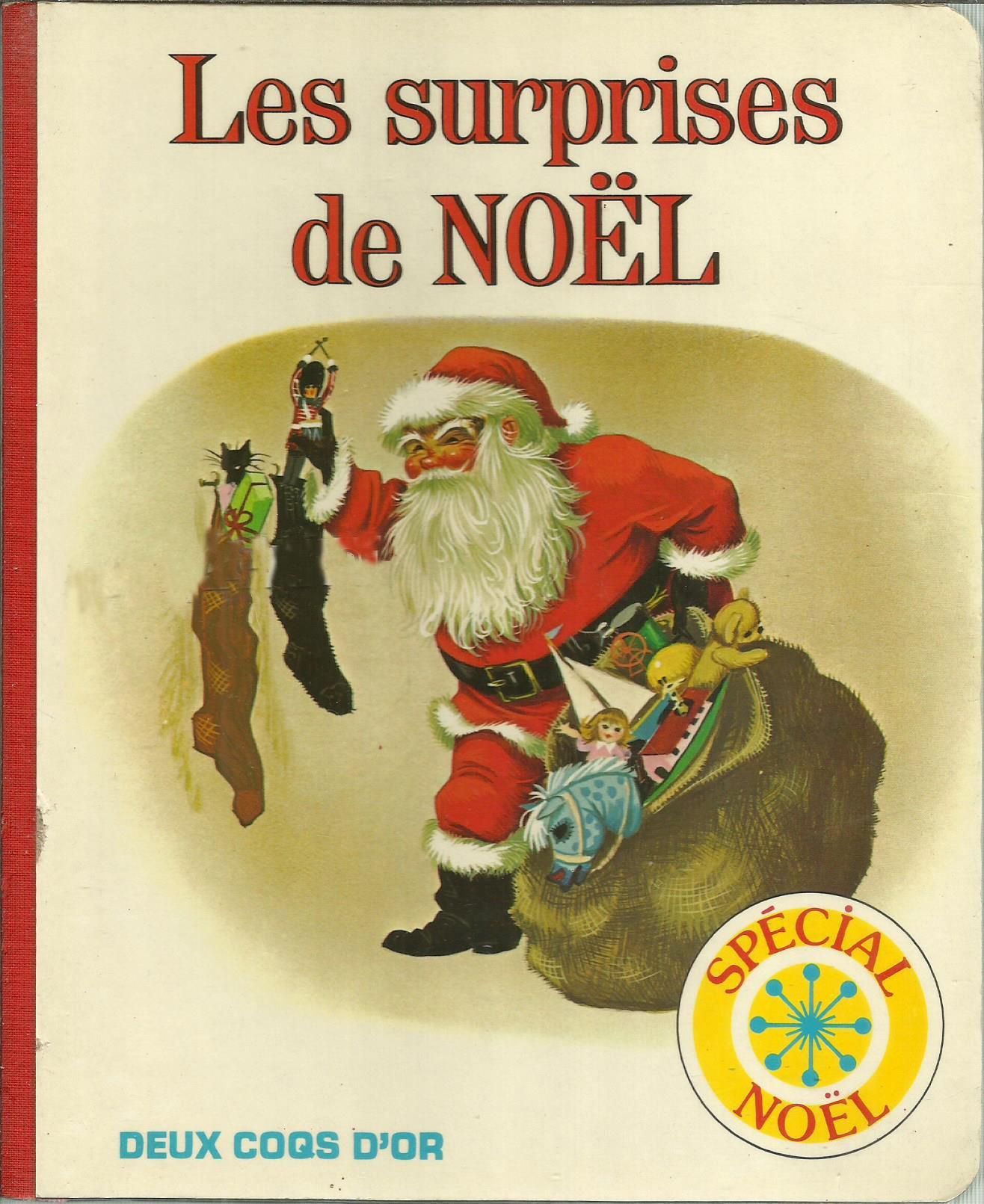 GJT French Les surprises de Noël night before christmas deux coqs dor 1981