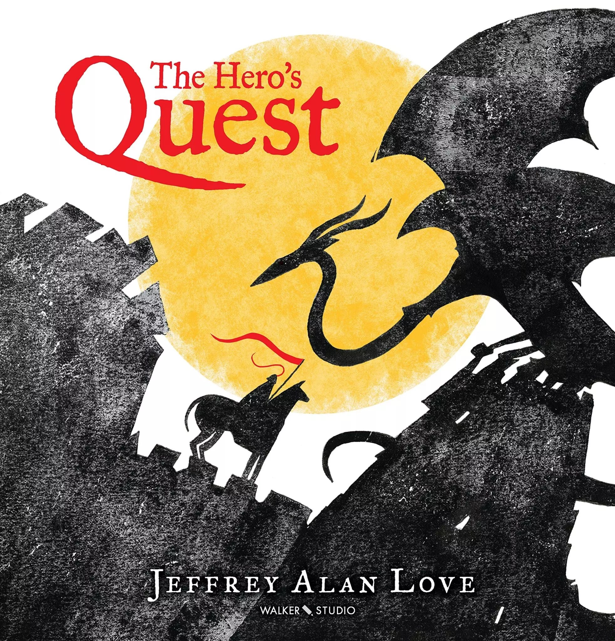 Heros Quest Jeffrey Love cover
