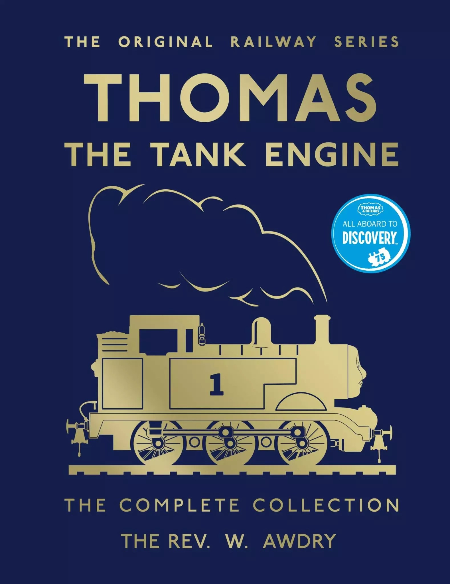 thomas the tank engine awdry 75th anniversary