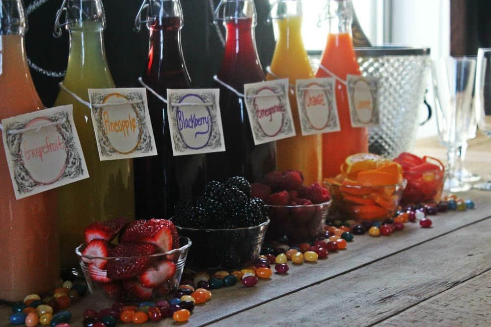 , DIY Mimosa Bar