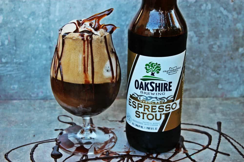 , Coffee Stout Ice Cream Float