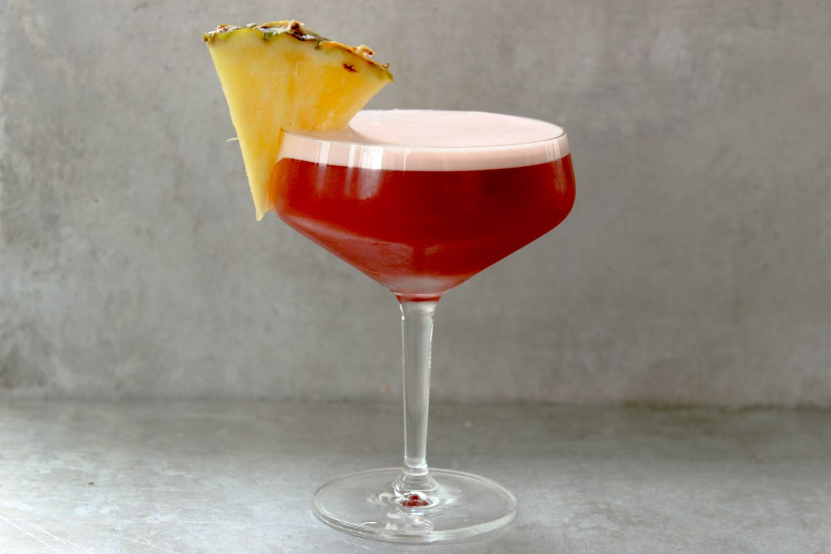 , Rum Negroni Pineapple Sour