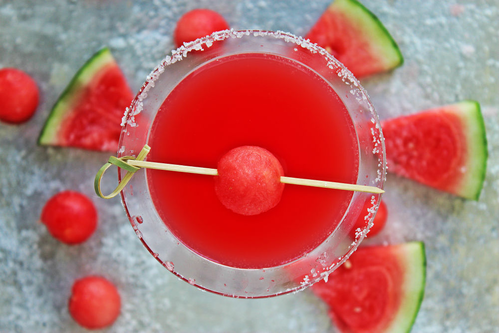 , Salted Watermelon Martini