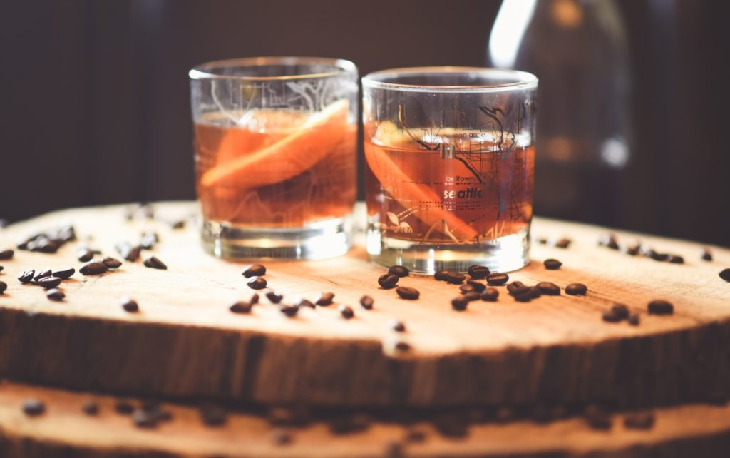 , Spiced Coffee Old Fashioned