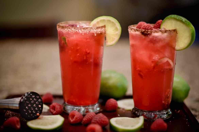 , Spicy Raspberry Margarita