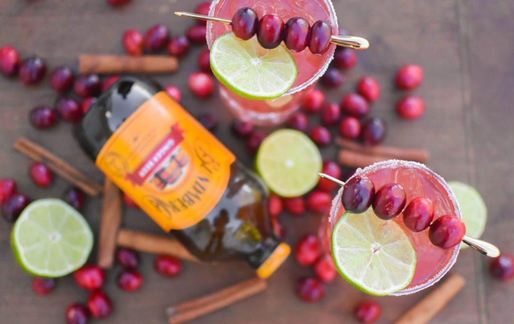 , Cranberry Ginger Paloma