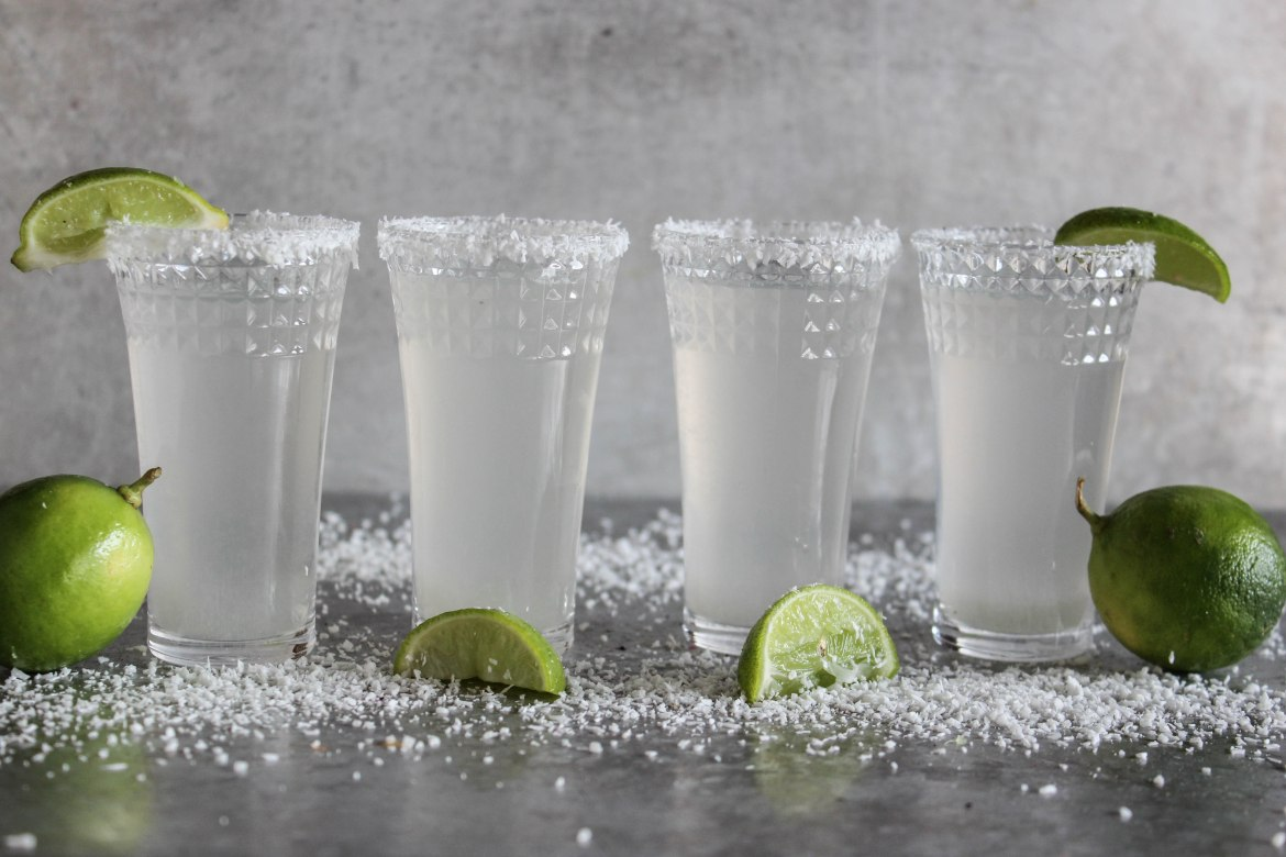 , Coconut Margarita Shots