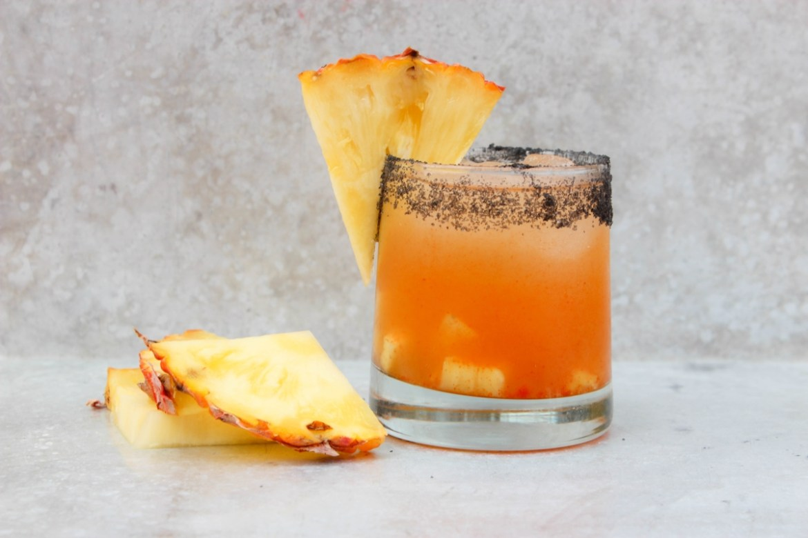 , Pineapple and Sriracha Margarita