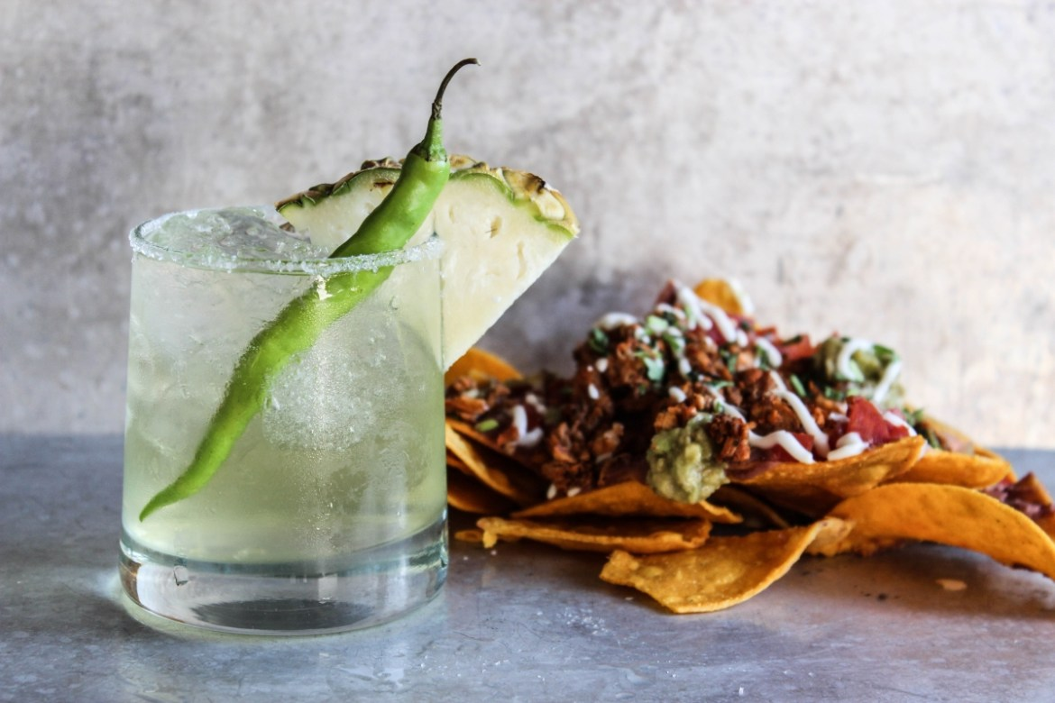 , Spicy Seahawks Margarita
