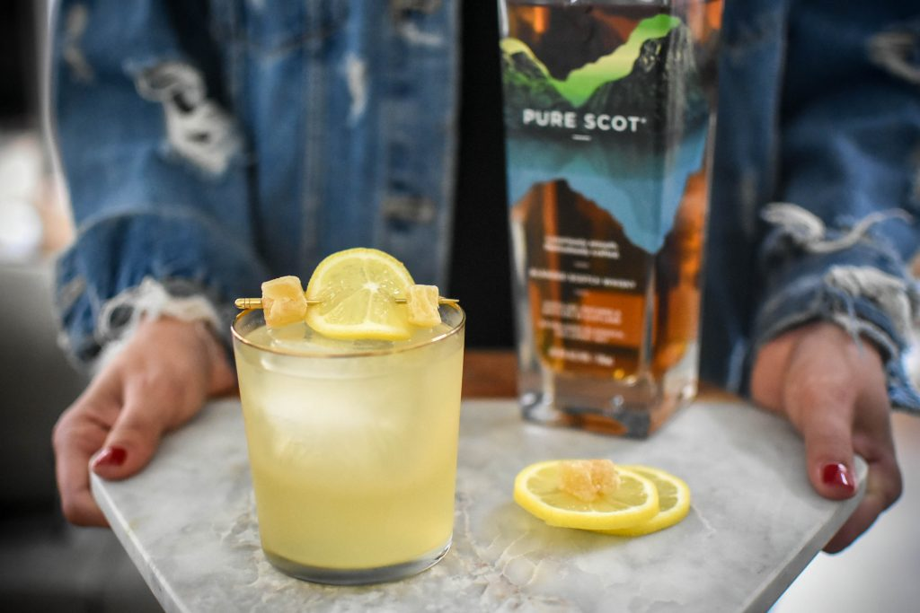 , Candied Penicillin Cocktail