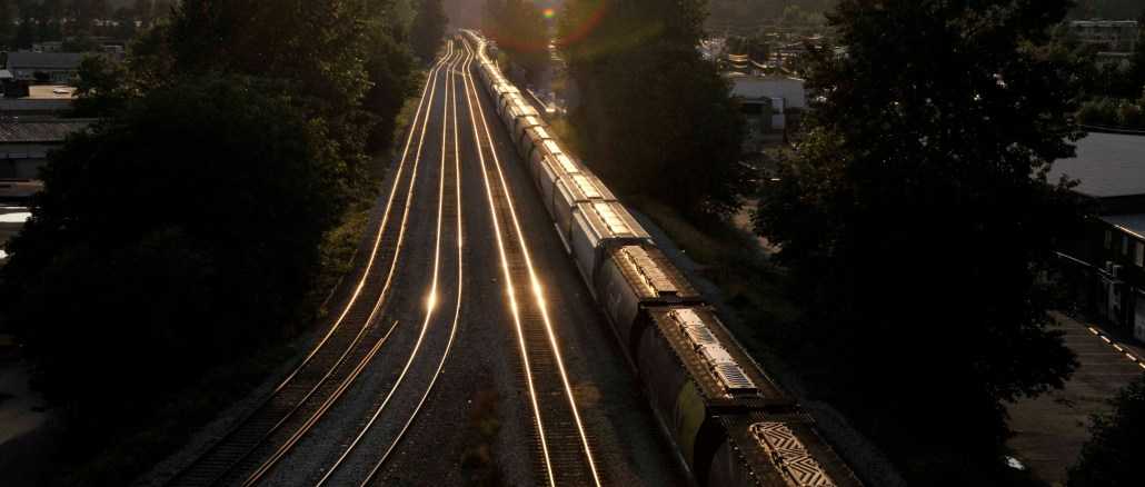 Trains Beautiful British Columbia Photo By Thanasis Bounas