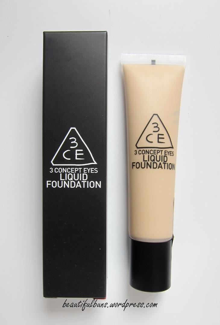 3ce Makeup Base Review : makeup, review, Review:, Concept, Liquid, Foundation, Beautifulbuns, Beauty,, Travel, Lifestyle