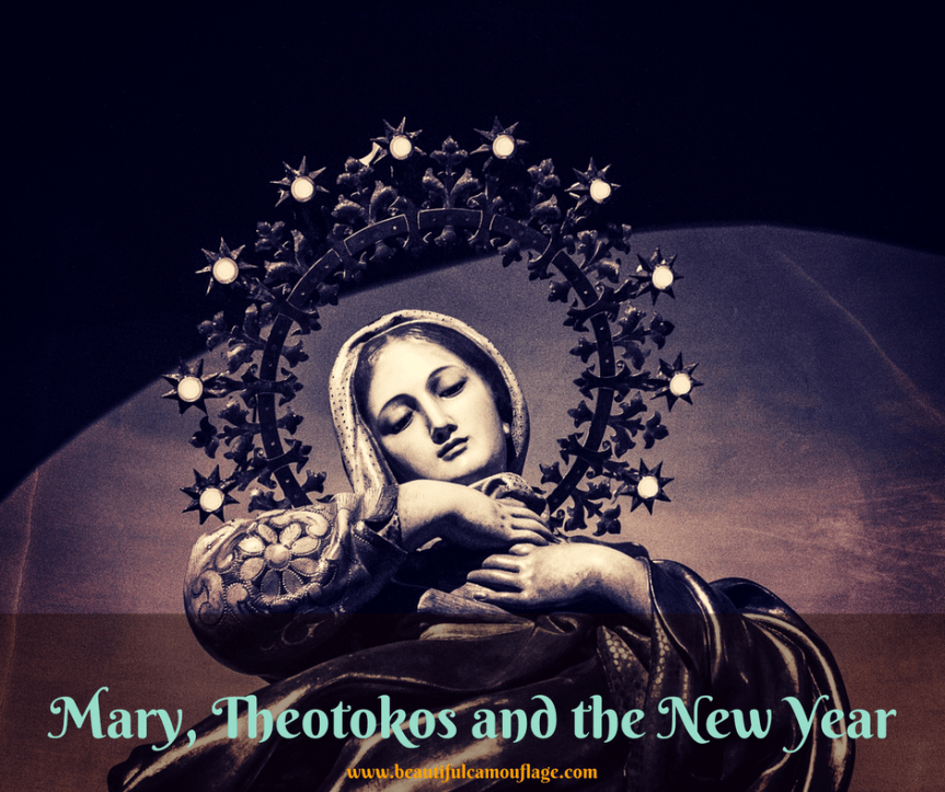 Mary, Theotokos and the New Year