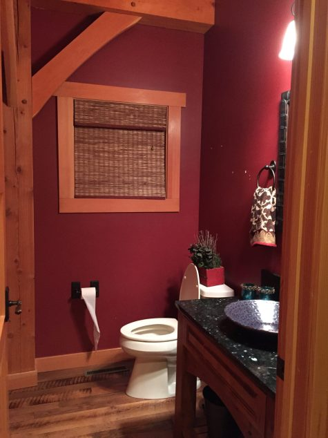 Before Photo in Powderoom renovation in Orono, Minnesota