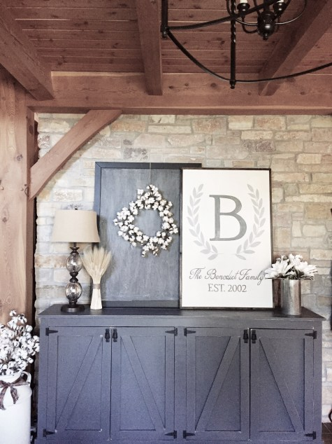 Front Entry Way Interior Design & Styling