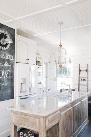 After farmhouse kitchen renovation