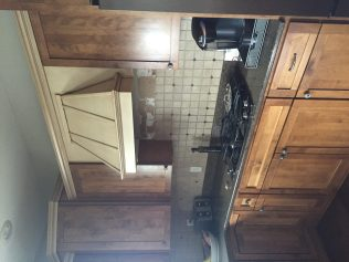 before kitchen hood