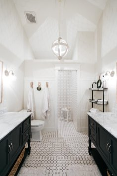 Farmhouse Master Bathroom Renovation