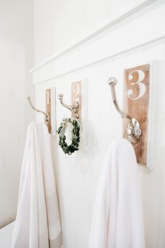 Shower Hooks Farmhouse Style