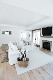 Living Room Farmhouse Style Renovation