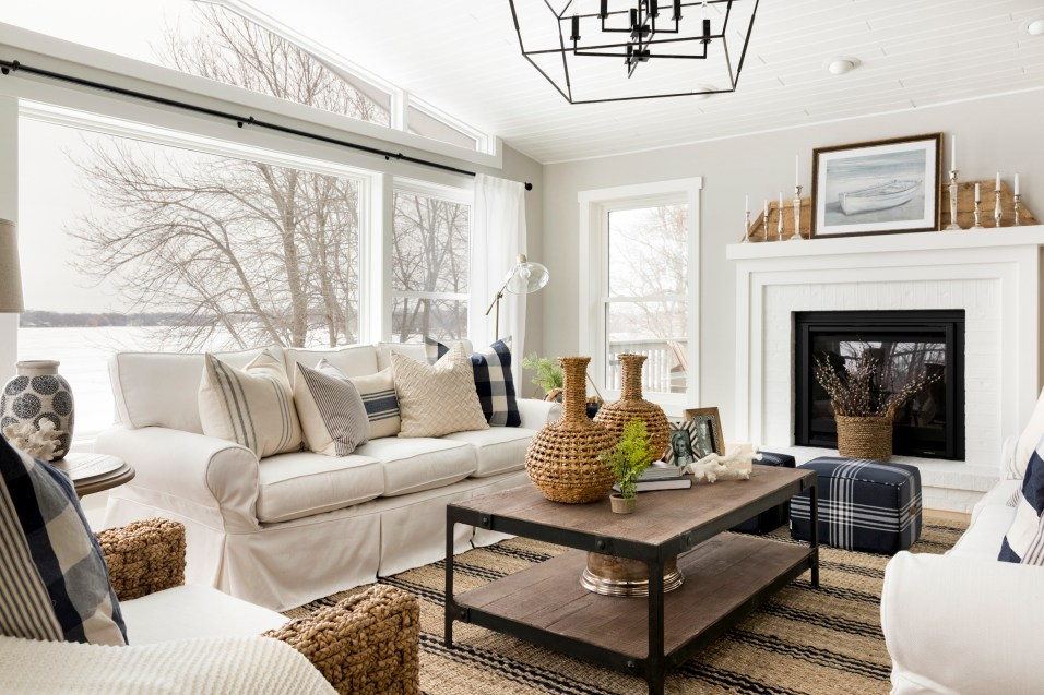 Lake Home Interior Design in Orono, Minnesota