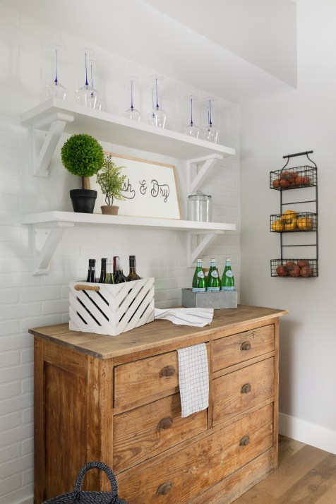 Hamptons Style Laundry Room and Pantry