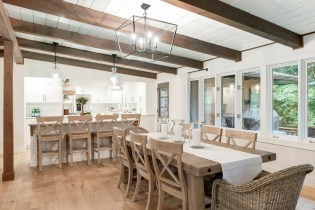 rustic dining room decor