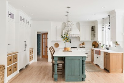 Blue Island Kitchen Ideas