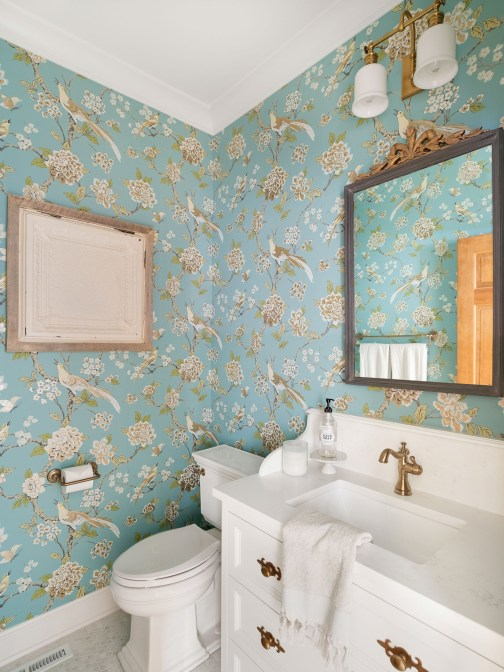 Powder Room Wallpaper inspiration