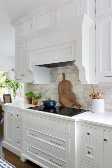 White Classic Kitchen Cabinetry