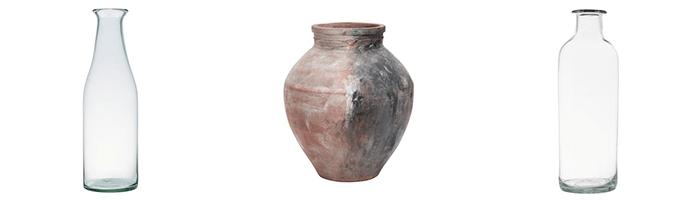 fall vases