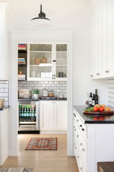 how to decorate butler's pantry for entertaining