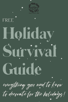 Download our Free Holiday Survival Guide