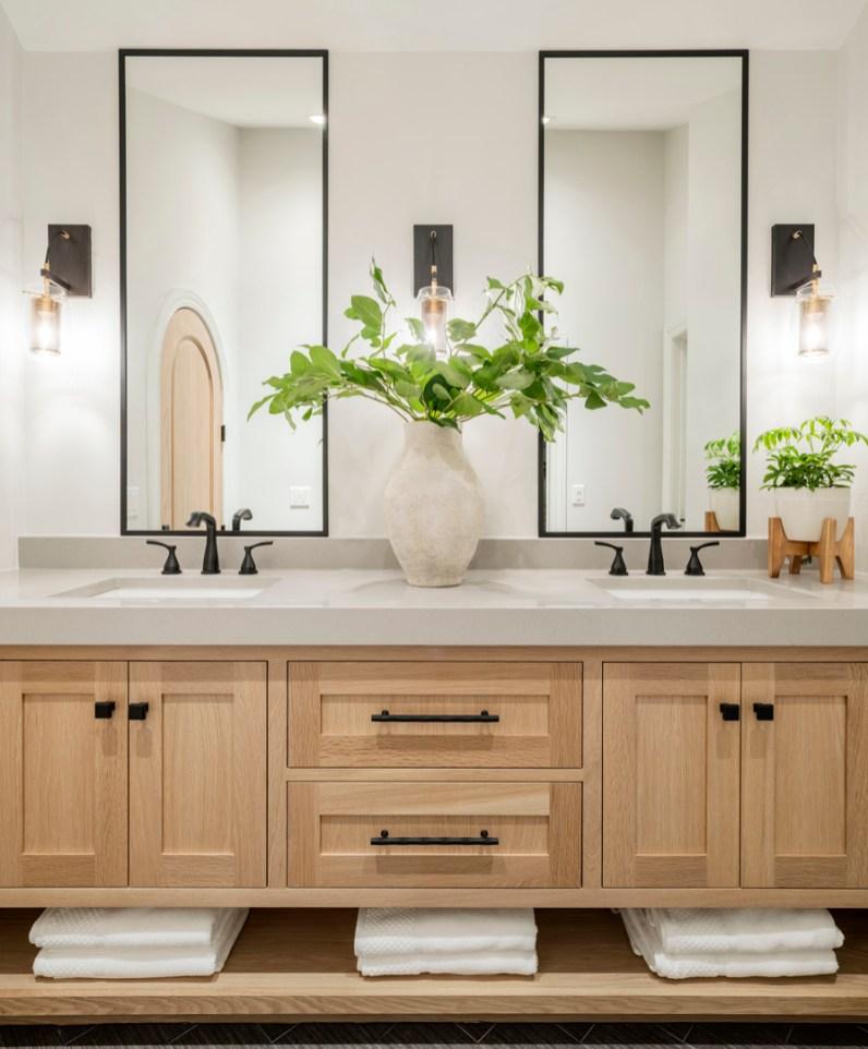 Double Vanity Ideas for Modern Master Bath
