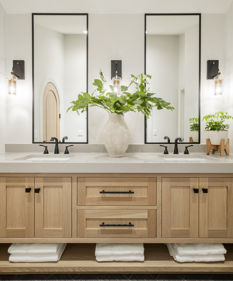 Double Vanity Ideas for Modern Master Bath