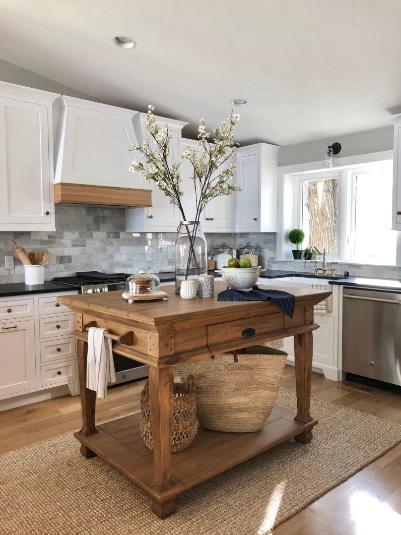 Lake home kitchen design