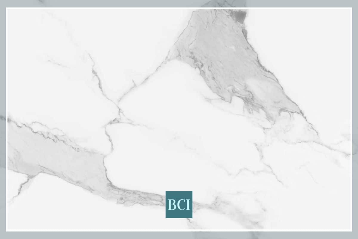 Photo of Calacatta marble slab that is perfect for a kitchen island countertop.