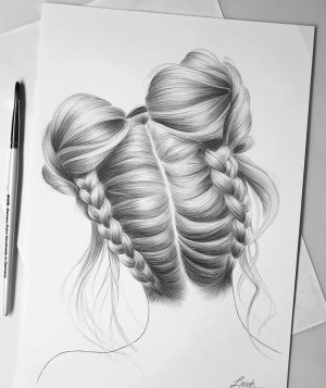 hair drawing references drawings weheartit credit