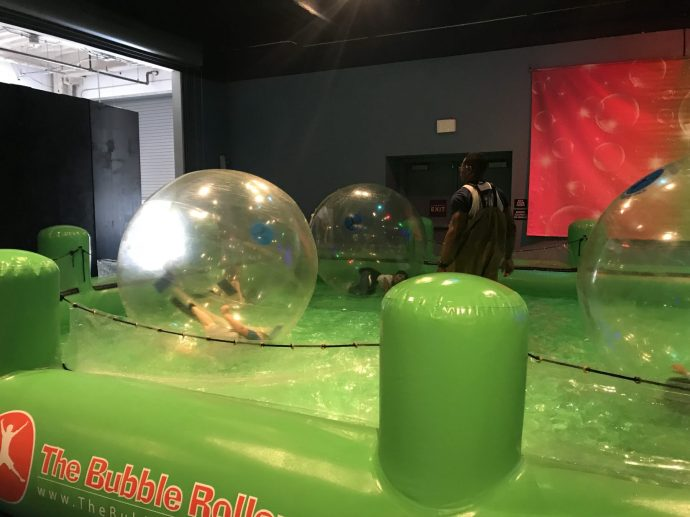 Bubble Rollers at Bubblefest 2018 at Discovery Cube