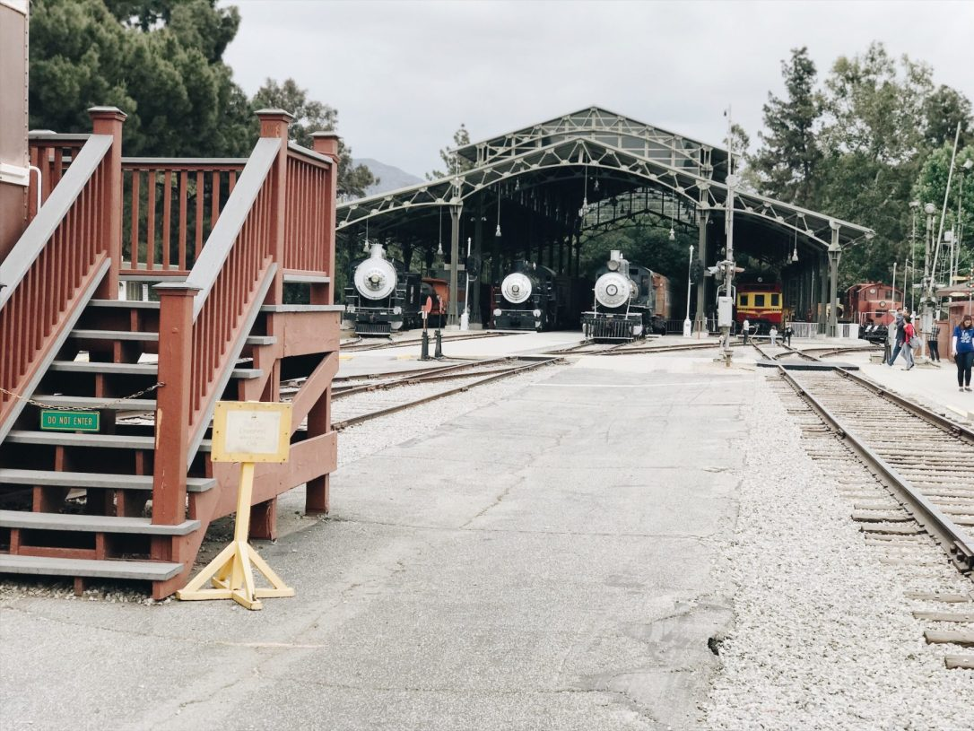 Travel Town Train Museum Los Angeles
