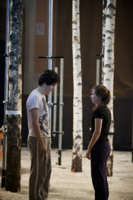 Let The Right One In Rehearsal Image Photo credit Pete Dibdin