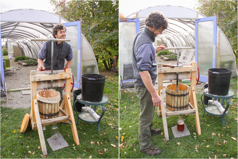 vermont in the fall - cider