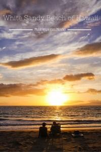 White Sandy Beach of Hawaii - Music Inspiration Monday