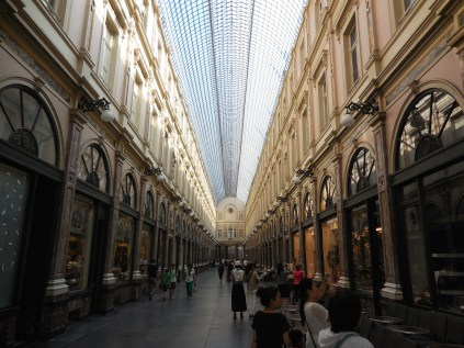 Europe's first covered shopping gallery - Brussels Belgium - by Anika Mikkelson - Miss Maps