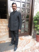 My stylish taxi driver in New Delhi, India - by Anika Mikkelson - Miss Maps