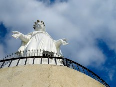 Harissa, a statue of the Virgin Mary, sits high atop the hillside and offers views of what seems like the entire country's stretch